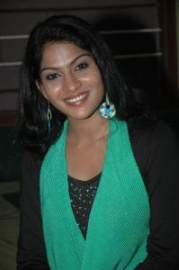 Actress Swasika at Kandathum Kaanaadathum Audio Launch Stills