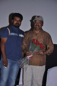KS Thangasami, K.Bhagyaraj at Raattinam Audio Launch Stills
