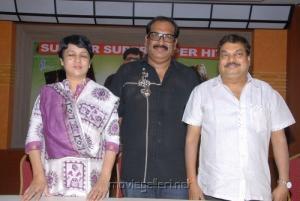 B.Jaya,Ahuti Prasad,BA Raju at Lovely Press Meet