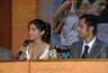 Melanie Kannokada, Arjun Gupta at Love, Lies & Seeta Press Meet
