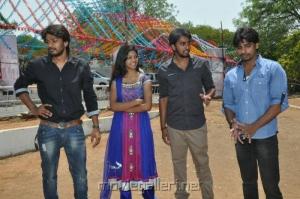 Railway Station Telugu Movie Launch Stills