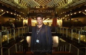 Tamil Director Elred Kumar at Festival de Cannes 2012
