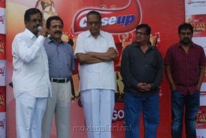 Vijay Awards Rasigan Express Bus Flag Off Stills