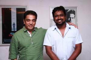 Kamal Haasan with Director M.Rajesh of Oru Kal Oru Kannadi(OKOK)