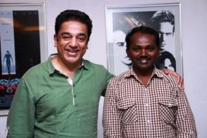 Kamal Haasan with Director Thiru of OKOK Team