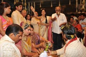 Sridevi & Boney Kapoor at Ram Charan Upasana Wedding Pictures