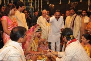 AP CM Kiran Kumar Reddy at Ram Charan Upasana Wedding Pics