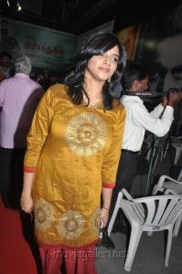 Actress Vasundhara at Nimirndhu Nil Movie Launch Stills