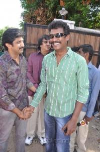 Jayam Raja, Samuthirakani at Nimirndhu Nil Movie Launch Stills