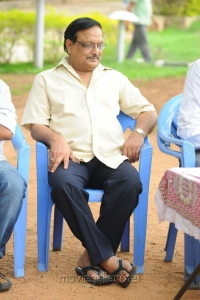 Yandamoori Veerendranath at Aakasam Lo Sagam Press Meet Stills