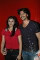 Srikanth with Vandana at Batman 3 Premiere Show Chennai Stills