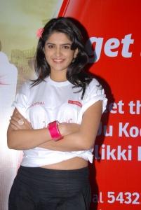 Deeksha Seth in UKUP Flash Mob at Orbit Mall