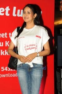 Panchi Bora at UKUP Flash Mob at Orbit Mall