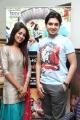 Hridhay, Aditi Chengappa at Konjam Coffee Konjam Kadhal Audio Launch Stills