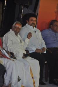 MS Viswanathan, Prabhu at Karnan Movie 150 Days Celebration Stills