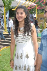 Actress Taapsee at Vasool Raja Movie Opening Stills