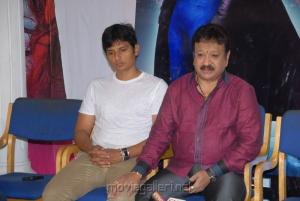 Jeeva, Paras Jain at Mask Movie Press Meet Stills