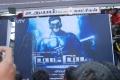 Jeeva Fans Celebrates Mugamoodi Release at Udhayam Theatre