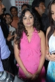 Actress Madhavi Latha at Naturals Family Salon, Tolichowki, Hyderabad