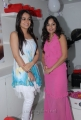 Aksha & Madhavi Latha at Naturals Family Salon Launch