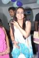 Actress Aksha at Naturals Family Salon, Tolichowki, Hyderabad