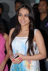 Actress Aksha Pardasany at Naturals Family Salon Tolichowki