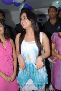 Actress Aksha Latest Images at Naturals Family Salon Tolichowki