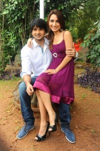 Actor Jayanth, Actress Dhriti at NSR Movie Launch Stills