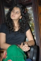 Beautiful Tapsee Stills at Gundello Godari Pre Release Press Meet