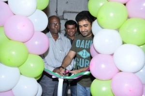 Vijay Antony launches Green Trends Salon at Ayanavaram
