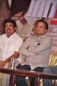 Kalpathi S Ganesh, KV Anand at Maatran Movie Success Meet Stills
