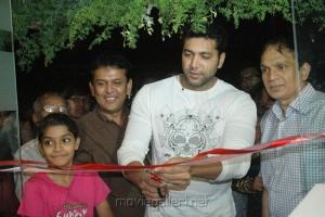Jayam Ravi Inaugurates Green Trends 83rd Outlet  at Anna Nagar Stills