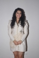 Tapsee in white dress & loose hair at King Tab Launch