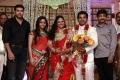 Jayam Ravi, Aarthi, M.Raja at Choreographers Shobi Lalitha Wedding Reception Stills