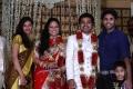 Nagendra Prasad at Choreographers Shobi Lalitha Wedding Reception Stills