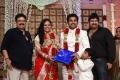 SV Sekar, Aswin at Choreographers Shobi Lalitha Wedding Reception Stills
