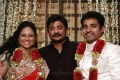 Raju Sundaram at Choreographers Shobi Lalitha Wedding Reception Stills