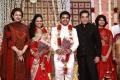 Gauthami, Kamal at Choreographers Shobi Lalitha Wedding Reception Stills