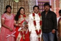 Sriman at Choreographers Shobi Lalitha Wedding Reception Stills