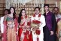 Vandana, Srikanth at Choreographers Shobi Lalitha Wedding Reception Stills