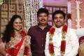 Director S.Shankar at Choreographers Shobi Lalitha Wedding Reception Stills