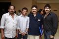 Sasi, SV Sekhar, Ashwin at Choreographers Shobi Lalitha Wedding Reception Stills