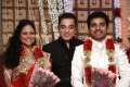 Kamal Hassan at Choreographers Shobi Lalitha Wedding Reception Stills