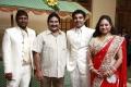 Singer Mano at Choreographers Shobi Lalitha Wedding Reception Stills