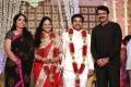 Rajiv Menon at Choreographers Shobi Lalitha Wedding Reception Stills
