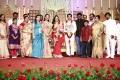 Director Hari, Preetha Vijayakumar at Shobi Lalitha Wedding Reception Stills