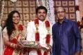 Choreographers Shobi Lalitha Wedding Reception Stills