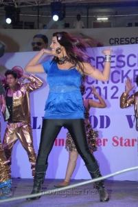 Tashu Kaushik Hot Dance Photos at Crescent Cricket Cup 2012