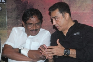 Bharathiraja, Kamal at Vishwaroopam on DTH Platform Press Meet Stills