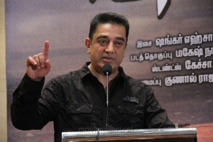 Kamal Hassan at Viswaroopam on DTH Platform Press Meet Stills